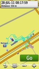 Yang biru-biru itu track saya