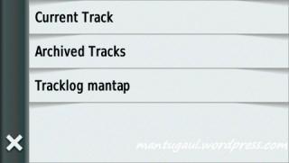 Nama tracklog bisa diubah misal tracklog mantap