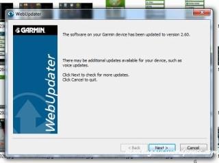 update firmware selesai
