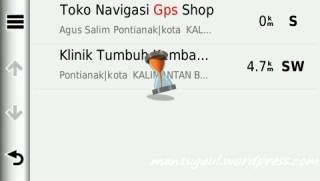 Search GPS