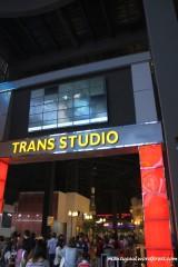Pintu masuk Trans studio bandung