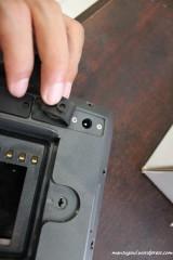 Konektor untuk charge baterai