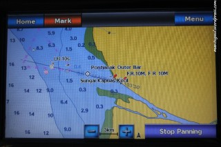 Ada informasi kedalaman laut