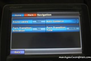 Pengaturan navigasi