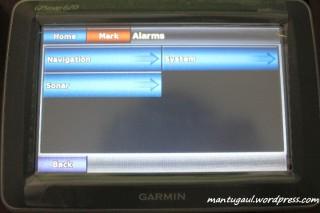 Pengaturan alarm