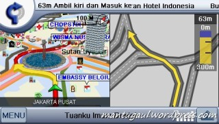 3D bulding plus bantuan belokan
