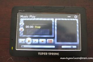 Music player