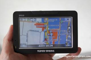 Tampilan map 2D