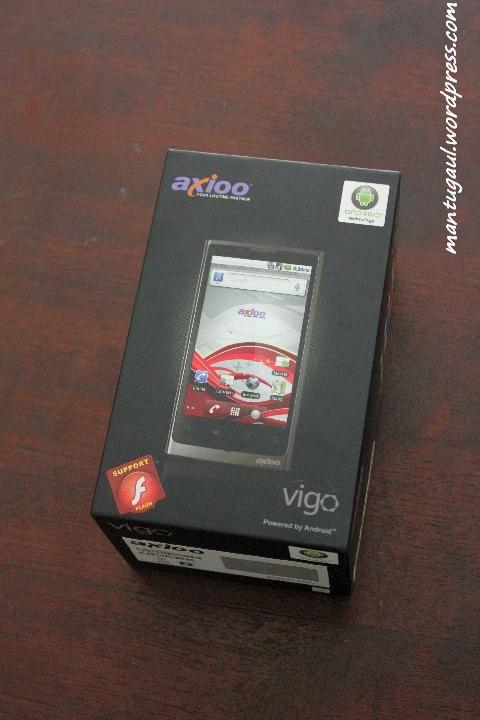 Review Ponsel Android Axioo Vigo 410, Android Lokal Dengan Roti Jahe (2/6)
