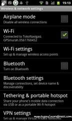 Wireless setting