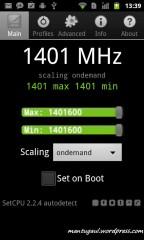 ROM ini bisa overclock hingga 1400MHz