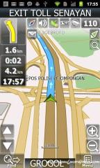 Modus navigasi Navitel