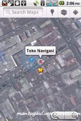 Zoom google maps
