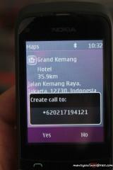Langsung call ke Grang Kemang Hotel? :)
