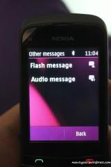 SMS bisa flash