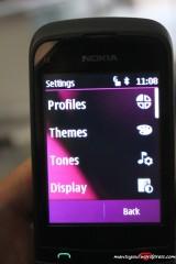 Settings phone