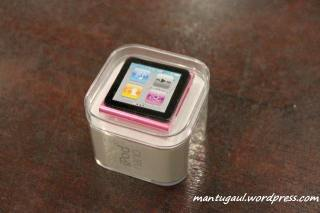 Kotak ipod nano 6th gen