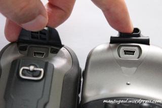 Etrex 30 vs Etrex Vista HCX konektor USB