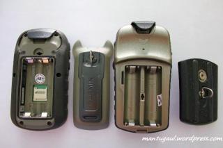 Etrex 30 vs Etrex Vista HCX tempat baterai