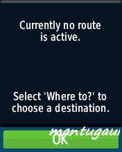 Active route