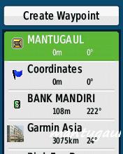Create waypoint