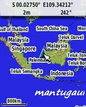 View map peta darat zoom in
