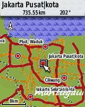 View map peta darat