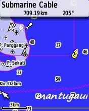 Peta laut
