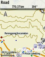 Peta topografi+peta darat