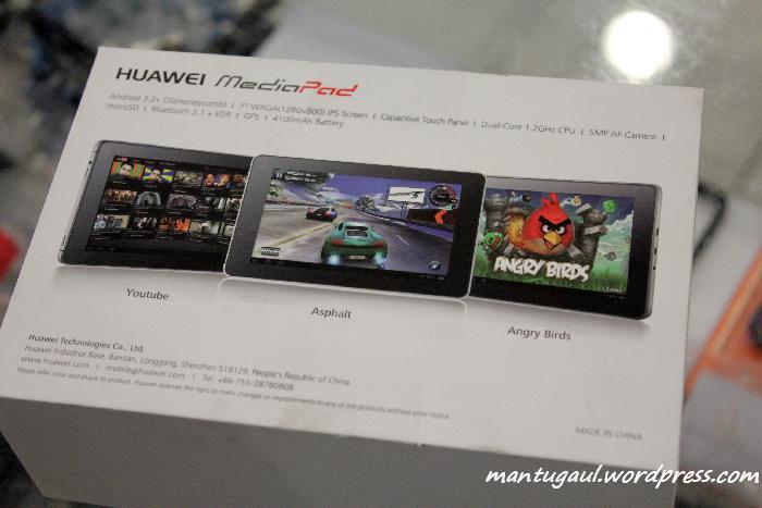 Review Tablet Huawei Mediapad S7-301u, Tablet Yang Ingin Menghadang Galaxy 7+ (4/6)
