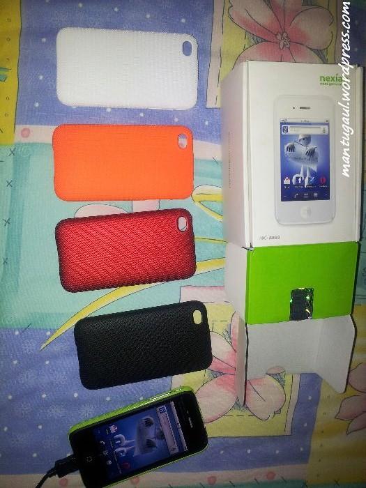 Nexian Magic vs iPhone 4 Asli vs iPhone 4 Aspal, Semua Ingin Menjadi iPhone 4 (2/6)