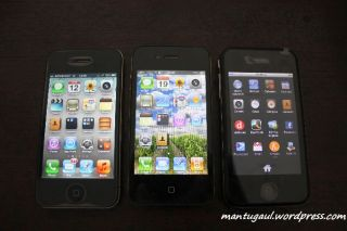 iPhone 4 asli, iPhone 4 palsu, Nexian Magic