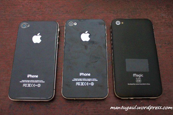Nexian Magic vs iPhone 4 Asli vs iPhone 4 Aspal, Semua Ingin Menjadi iPhone 4 (4/6)