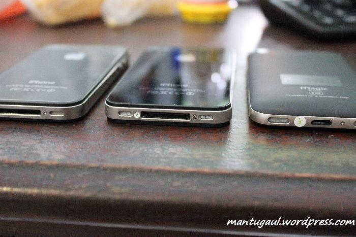 Nexian Magic vs iPhone 4 Asli vs iPhone 4 Aspal, Semua Ingin Menjadi iPhone 4 (5/6)