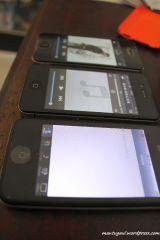 Yang tengah iPhone palsu