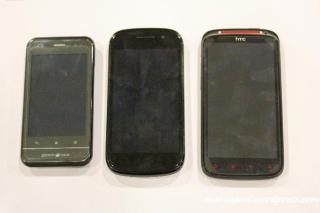 A10, Nexus S, Sensation XE