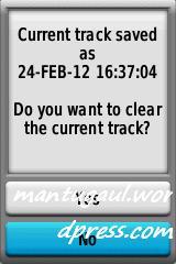 Saved tracks