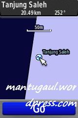 Peta laut bluechart
