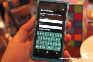 Nokia account misal ovi