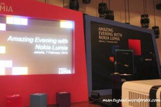 Sekarang acara Launching Nokia untuk komunitas