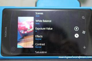 Pengaturan video Nokia Lumia 800