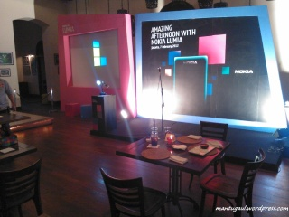 Di acara launching nokia