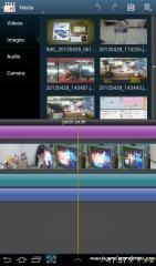 Video maker, editor built in