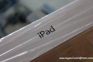 Kotak Apple New iPad, tidak ada kata new, tidak ada tulisan 3