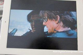 Mission impossible 4, film ini pakai ipad juga :)
