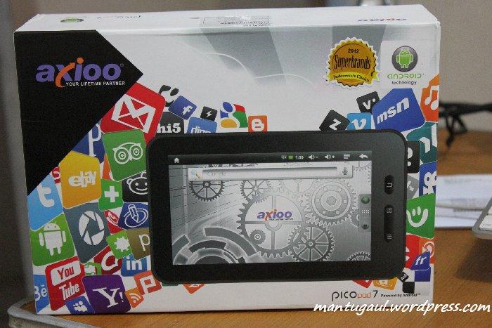 Review Axioo Picopad 7, Tablet Android ICS Harga Miring (2/6)