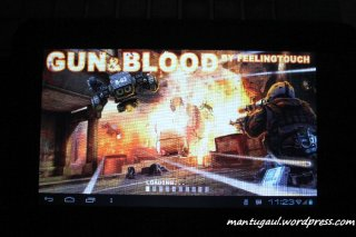 Game gun & blood