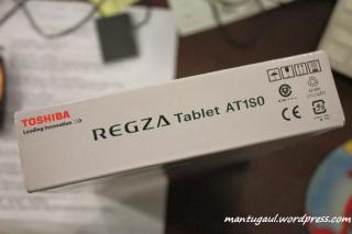 Kotaknya Tablet Android Toshiba Regza AT1S0