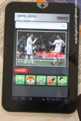 Aplikasi lokal: Dunia soccer