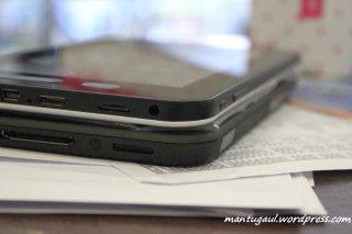 Perbandingan dengan tablet picopad 7
